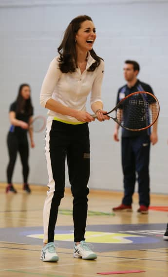 Duchess Kate at Craigmount High School