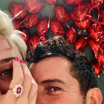 Katy Perry und Orlando Bloom: Mit diesem Foto geben sie ihre Verlobung bekannt