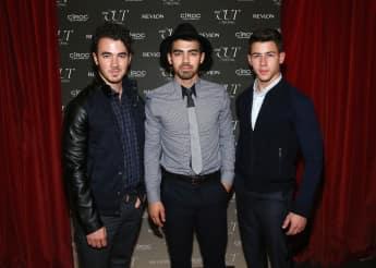 Kevin Jonas, Joe Jonas und Nick Jonas von den Jonas Brothers