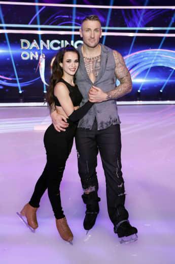 """Myriam Leuenberger und Kevin Kuske bei """"Dancing on Ice"""""""