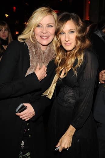 """Kim Cattrall und Sarah Jessica Parker bei der Premiere zu """"Haben Sie das von den Morgans gehört?"""", 2009, """"Sex and the City"""""""