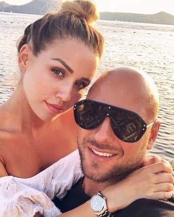 Kim Gloss und Alexander Beliaikin im Juli 2019 auf Instagram