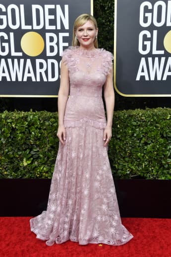 Kirsten Dunst bei den 77th Annual Golden Globe Awards im The Beverly Hilton Hotel am 5. Januar 2020