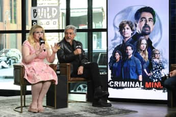 Criminal Minds Kirsten Vangsness Joe Mantegna
