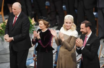 König Harald Königin Sonja Prinzessin Mette-Marit Prinz Haakon