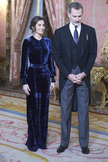 Königin Letizia König Felipe Madrid