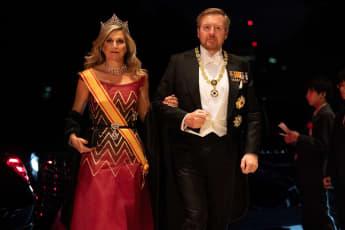 königin máxima, könig willem-alexander japan