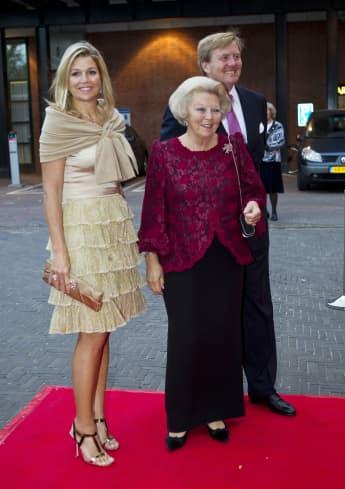Königin Máxima, Prinzessin Beatrix und König Willem-Alexander 2011 in Amsterdam