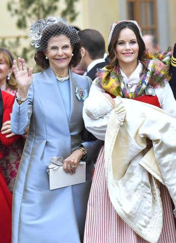 Königin Silvia und Prinzessin Sofia verstehen sich Freunde