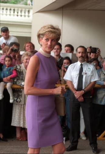 Lady Diana im Jahr 1996 in Sydney
