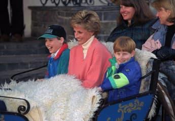 Lady Diana Prinz William Prinz Harry