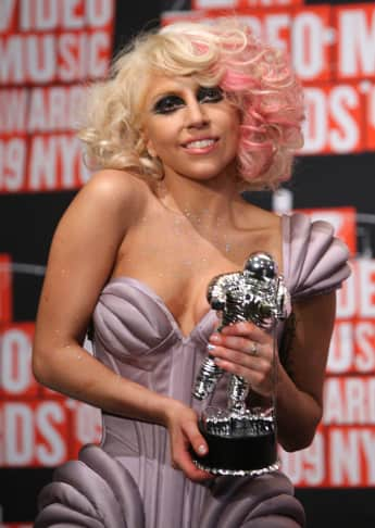 Lady Gaga 2009 MTV Video Music Awards
