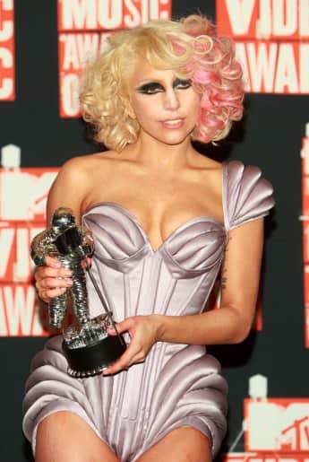 Make-Up-Fail: Lady Gaga im Jahr 2009