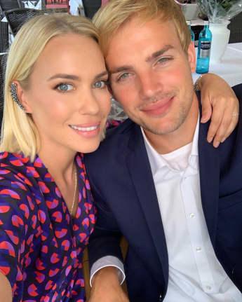 Lara-Isabelle Rentinck und ihr Mann Cimo Röcker