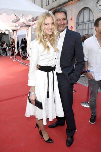 Larissa Marolt und Dieter Bach bei der Movie Meets Media in München