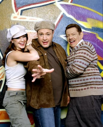 "Leah Remini, Kevin James und Jerry Stiller in ""King of Queens"""