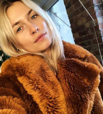 Lena Gercke ohne Make-up