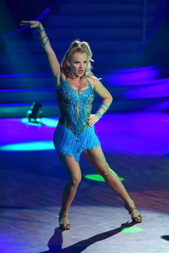 """Evelyn Burdecki musste bei """"Let's Dance"""" harte Kritik von der Jury einstecken"""