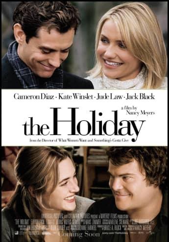 """""""Liebe braucht keine Ferien""""-Filmplakat: Jude Law, Cameron Diaz, Kate Winslet und Jack Black"""