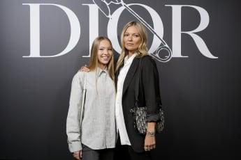 Lila Moss und Kate Moss bei der Dior Homme Menswear Fall/Winter 2020-2021 Show