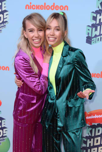Lisa & Lena bei den Kids' Choice Awards 2019