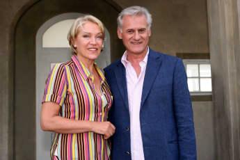 Lisa Riecken und Frank-Thomas Mende bei GZSZ