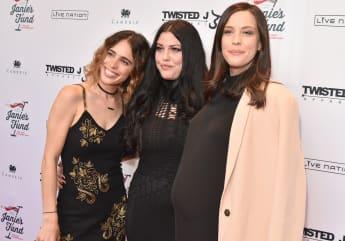 Liv Tyler mit Schwestern Chelsea und Mia