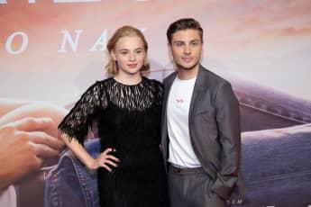 Luna Wedler und Jannik Schümann