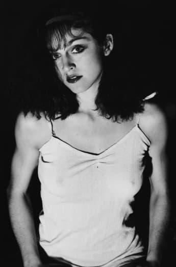Madonna in jungen Jahren