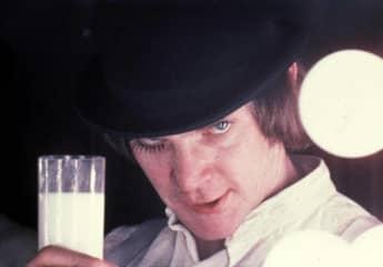 Malcolm McDowell in Clockwork Orange