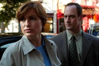 """Mariska Hargitay und Christopher Meloni in ihren Rollen """"Benson"""" und """"Stabler"""" für """"Law & Order: SVU"""""""