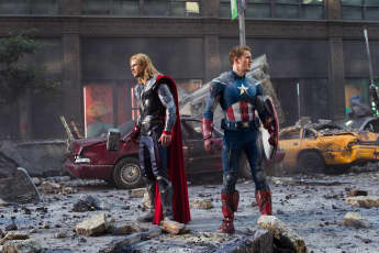 """""""Thor"""" und """"Captain America"""" in """"Marvels The Avengers"""""""