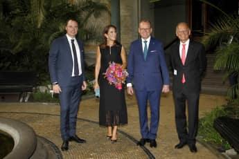 Prinzessin Mary von Dänemark mit den Gewinnern des Carlsbergpreises 2018