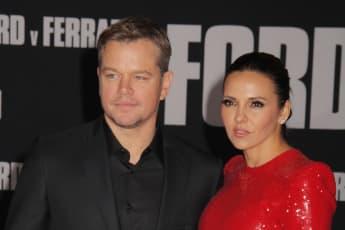 Matt Damon und seine Ehefrau Luciana Barroso