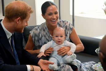 Meghan, Harry und Archie in Afrika