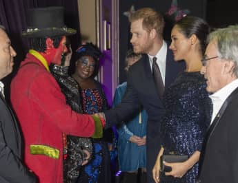 Meghan and Harry at the Royal Albert Hall