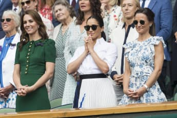 Herzogin Kate, Herzogin Meghan und Pippa Middleton beim Wimbledon-Turnier