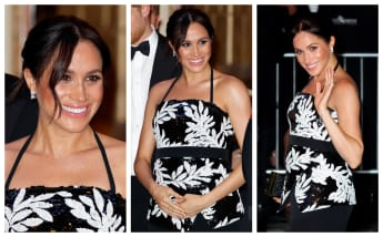 Meghan looked stunning at the Royal Variety Performance 2018