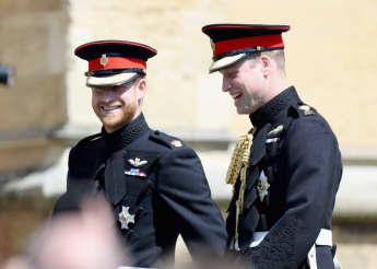 Die Beziehung von Prinz Harry und Prinz William soll sich verbessert haben
