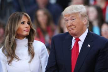 Melania und Donald Trump sind für die Goldene Himbeere nominiert