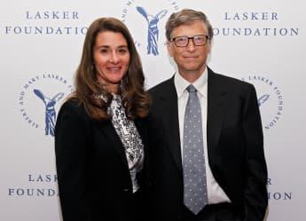 Melinda und Bill Gates bei ihrer Bill & Melinda Gates Foundation am 20. September 2013 in New York