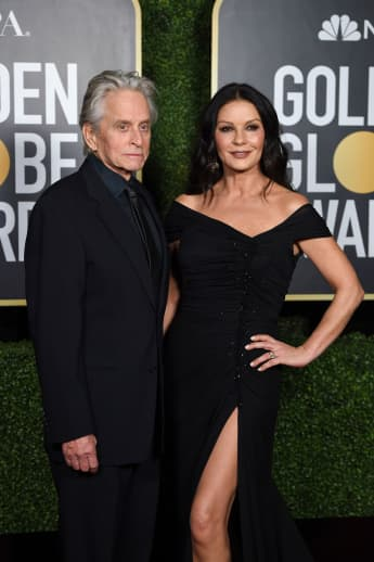 Michael Douglas und Catherine Zeta-Jones bei den Golden Globes 2021