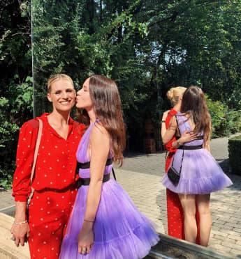 Michelle Hunziker und Aurora Hunziker gemeinsam auf Instagram im Juli 2019