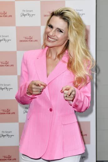 Michelle Hunziker beim Triumph Design For Life Launch Event