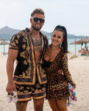 Mike Heiter und Elena Miras im Juli 2020