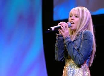 """Miley Cyrus in ihrer Rolle der """"Hannah Montana"""""""
