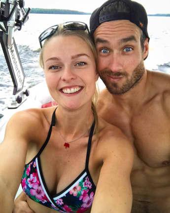 Mit ihrem neuen Freund Nate kann Miriam Höller endlich wieder strahlen