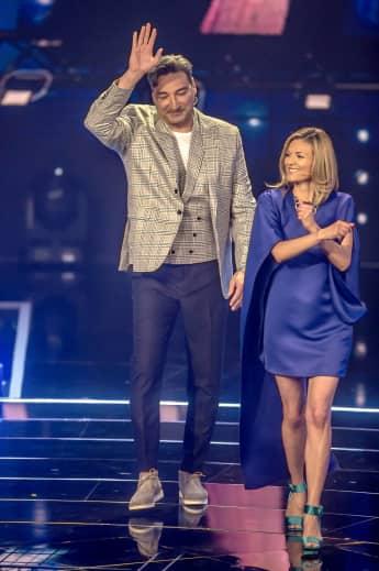 Mousse T. und Ella Endlich: Die DSDS-Juroren beim großen Finale der Castingshow