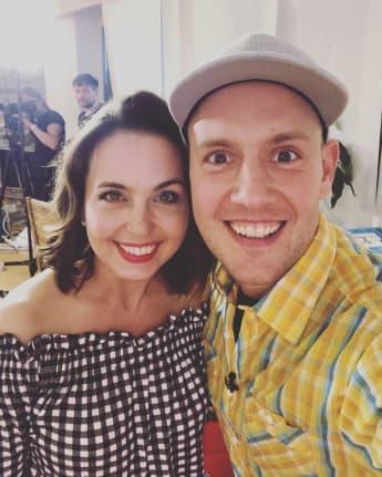 Nadine Dehmel und Oli P. feiern eine GZSZ-Reunion