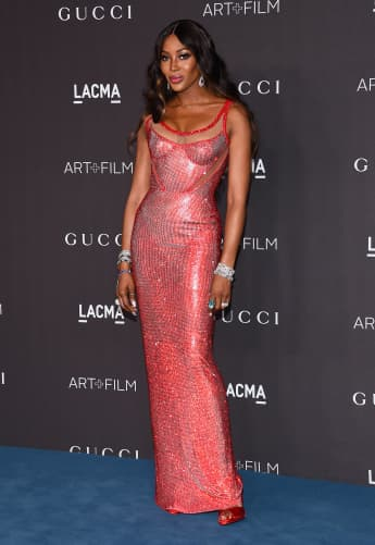 "Model Naomi Campbell bei der ""LACMA Art and Film Gala"" in Los Angeles 2019"